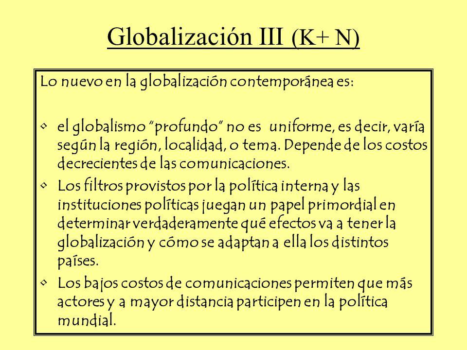 Globalización III (K+ N)