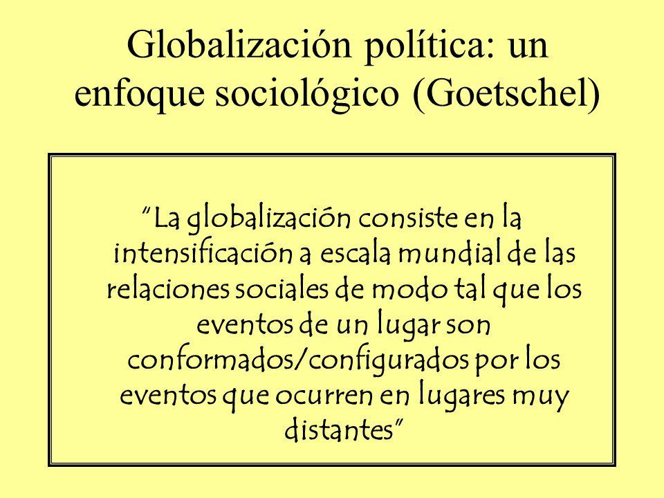 Globalización política: un enfoque sociológico (Goetschel)