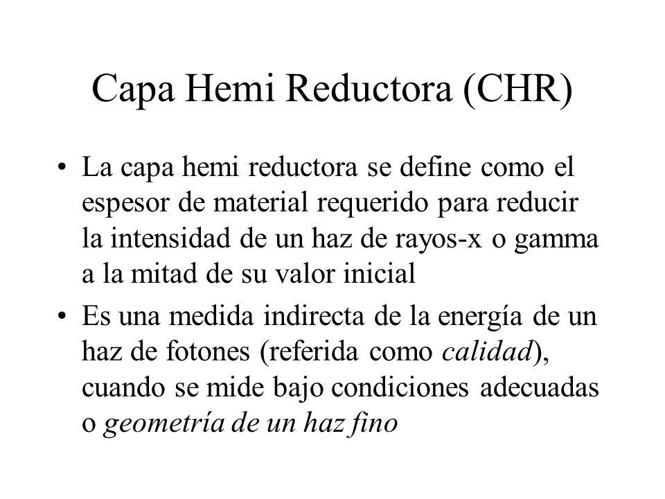 Capa Hemi Reductora (CHR)