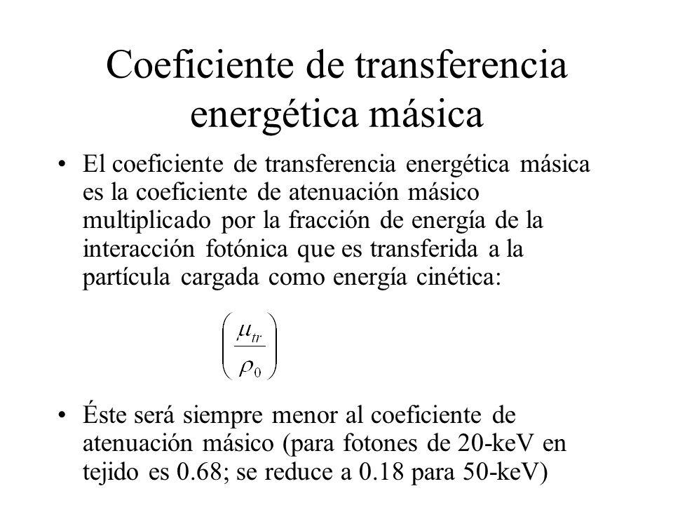 Coeficiente de transferencia energética másica