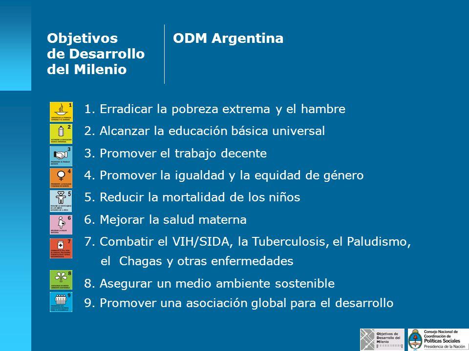 Objetivos de Desarrollo del Milenio ODM Argentina