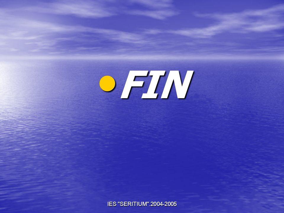 FIN IES SERITIUM .2004-2005