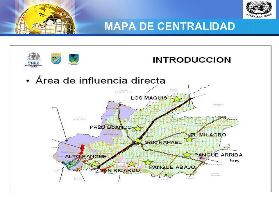 MAPA DE CENTRALIDAD