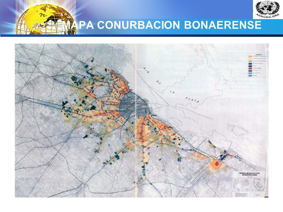 MAPA CONURBACION BONAERENSE