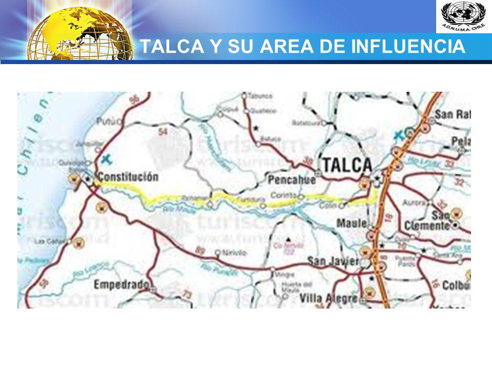 TALCA Y SU AREA DE INFLUENCIA