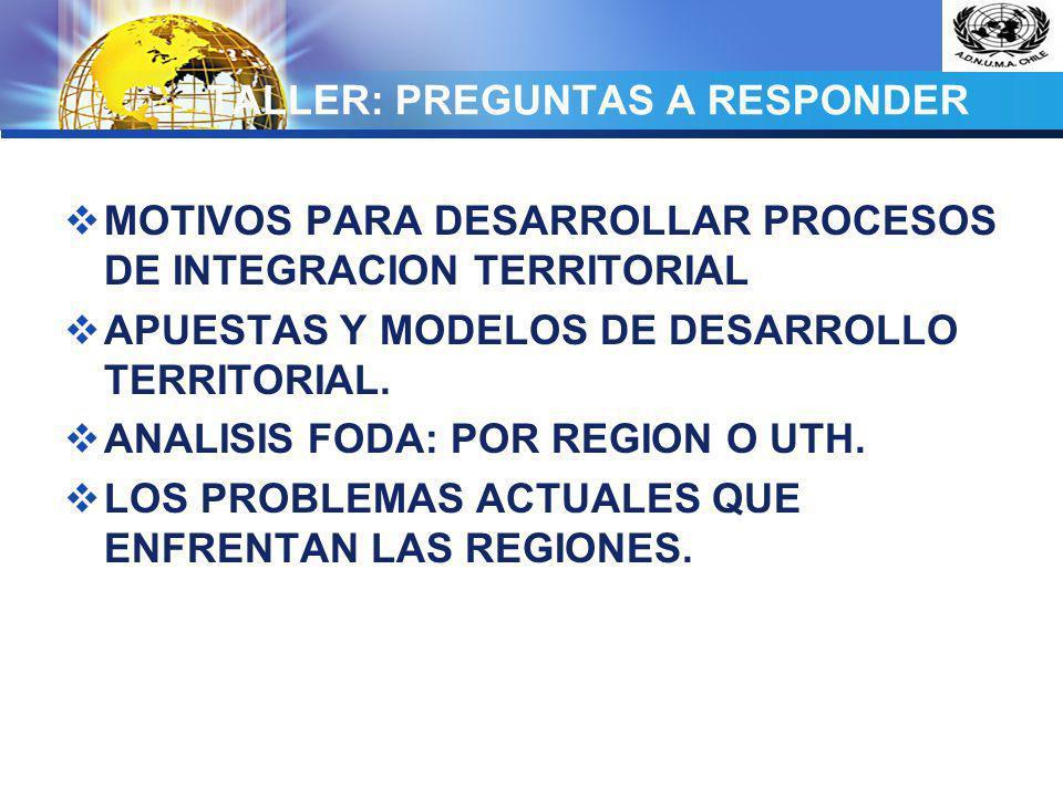 TALLER: PREGUNTAS A RESPONDER