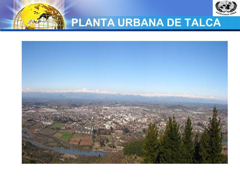 PLANTA URBANA DE TALCA