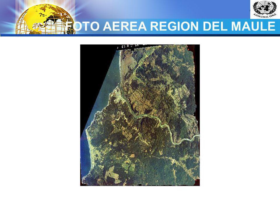 FOTO AEREA REGION DEL MAULE