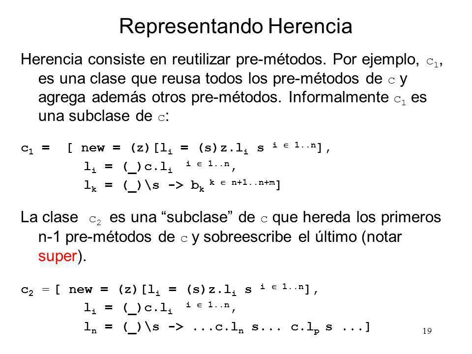 Representando Herencia