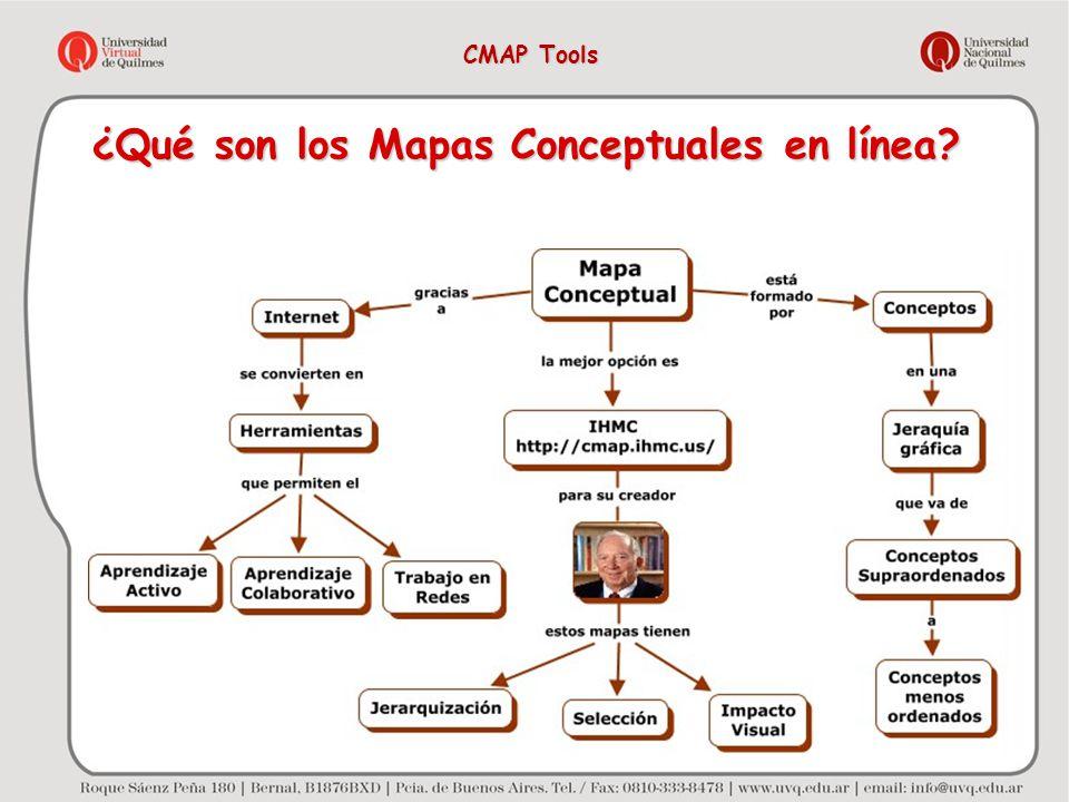 ¿Qué son los Mapas Conceptuales en línea