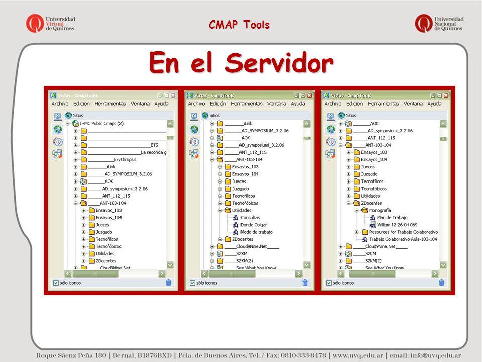 CMAP Tools En el Servidor