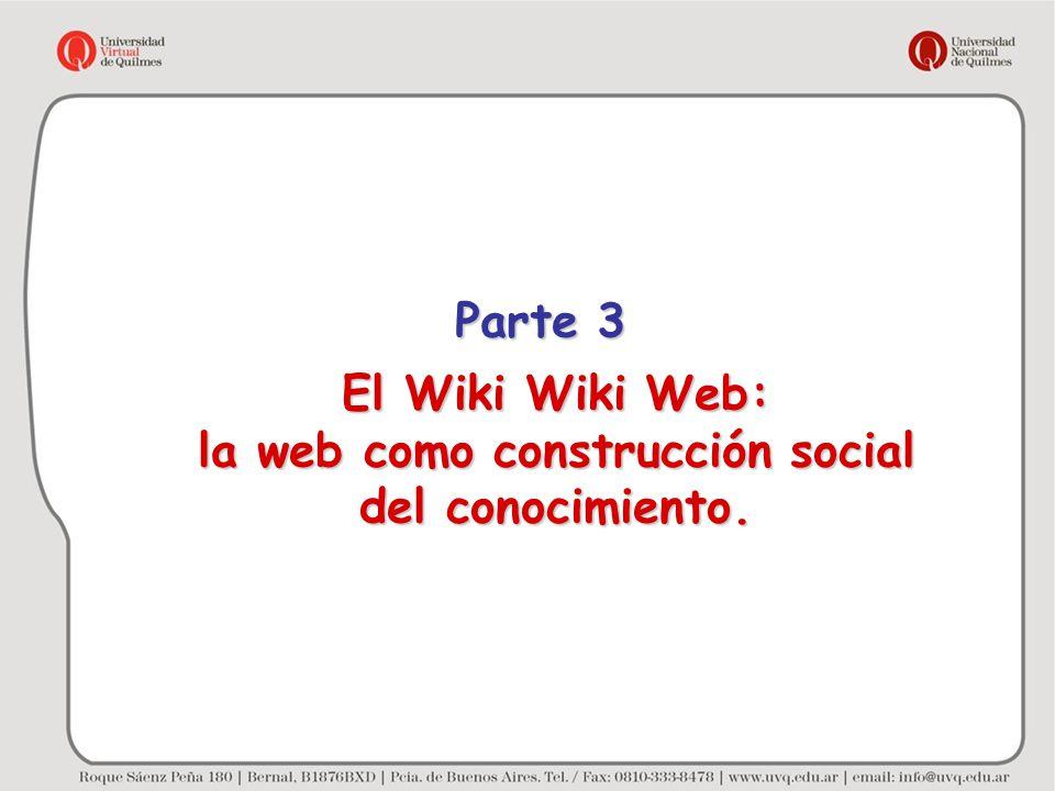 la web como construcción social