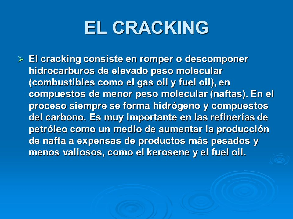 EL CRACKING