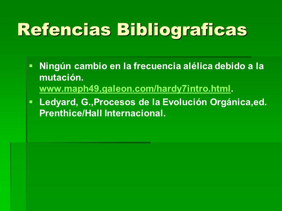 Refencias Bibliograficas