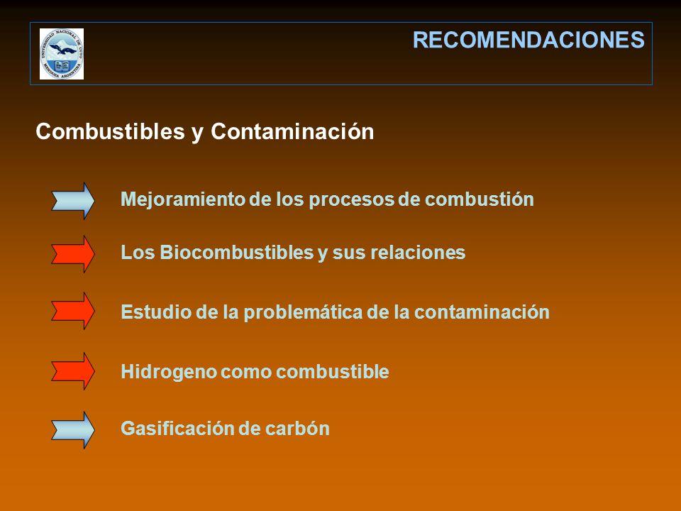 Combustibles y Contaminación