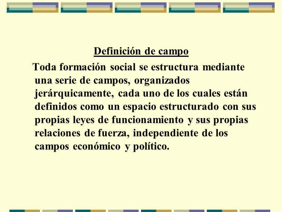Definición de campo