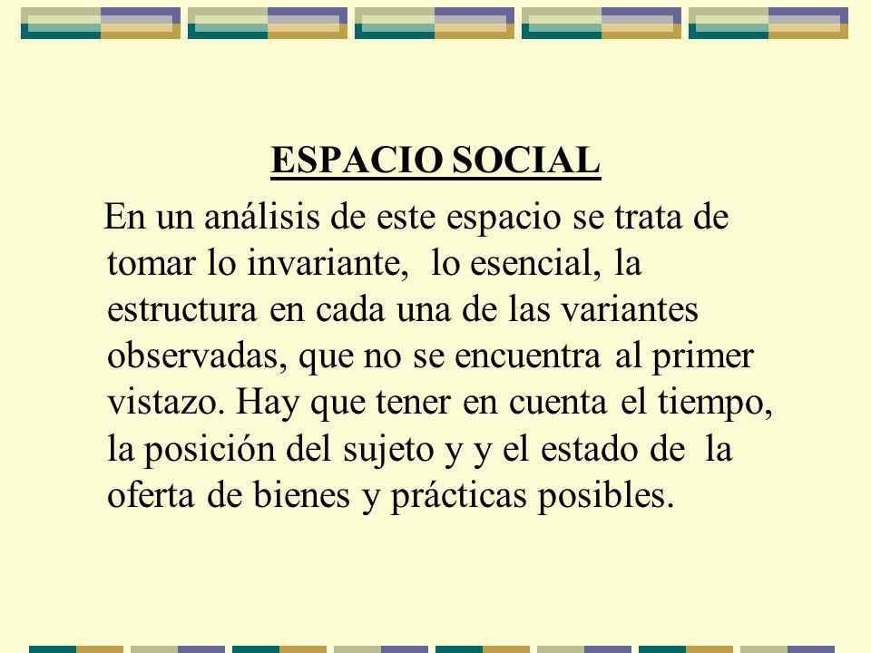 ESPACIO SOCIAL