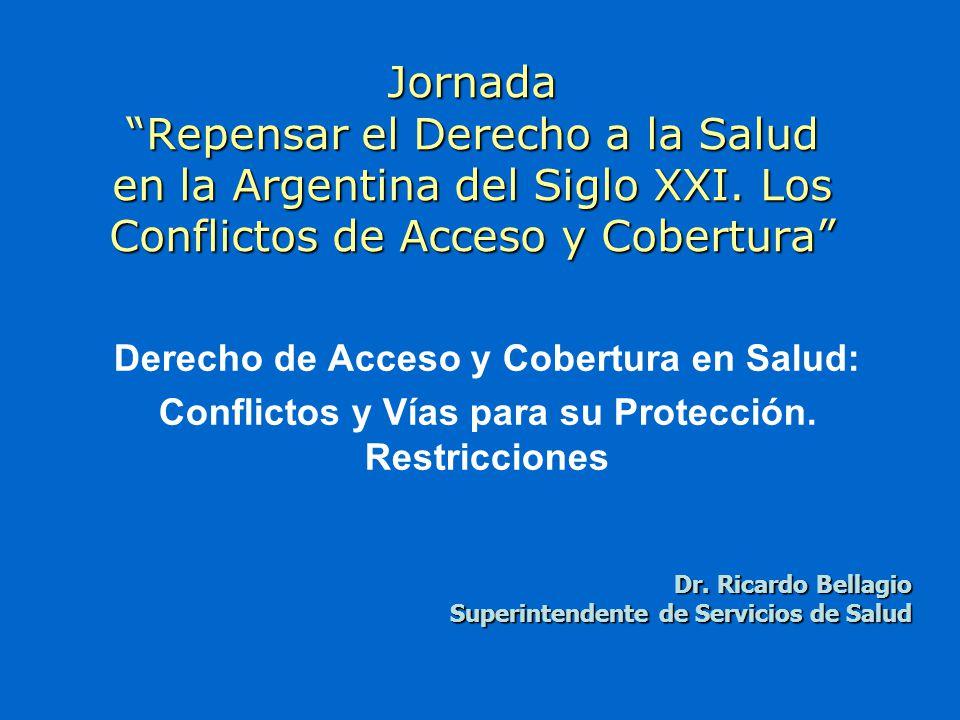 Jornada Repensar el Derecho a la Salud en la Argentina del Siglo XXI