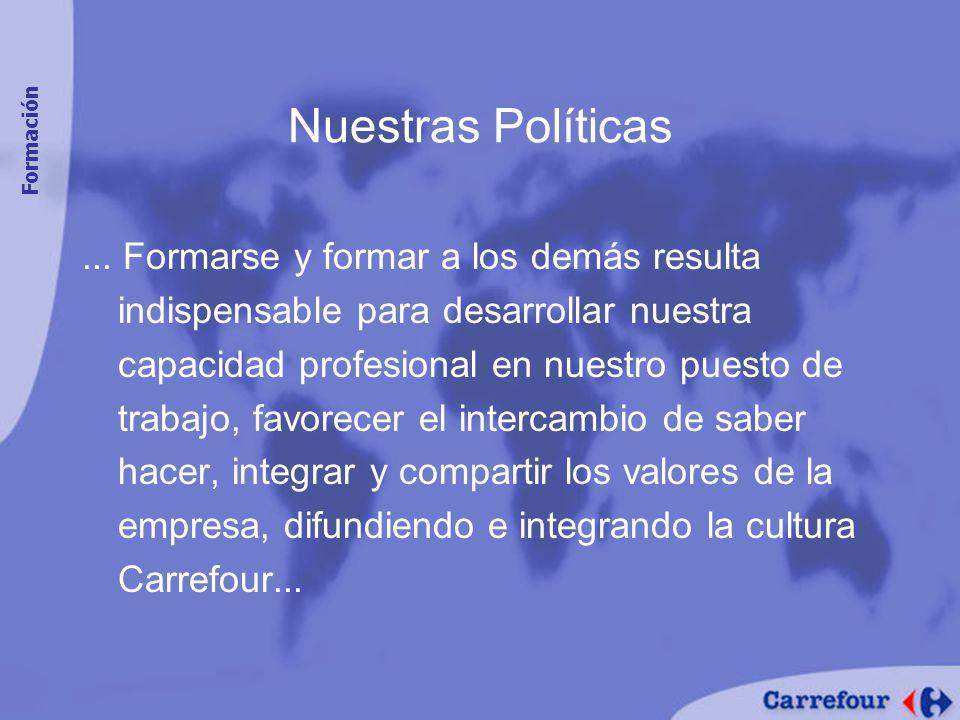 Nuestras Políticas Formación.