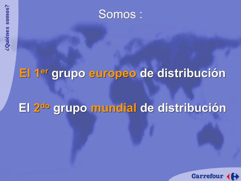 El 1er grupo europeo de distribución