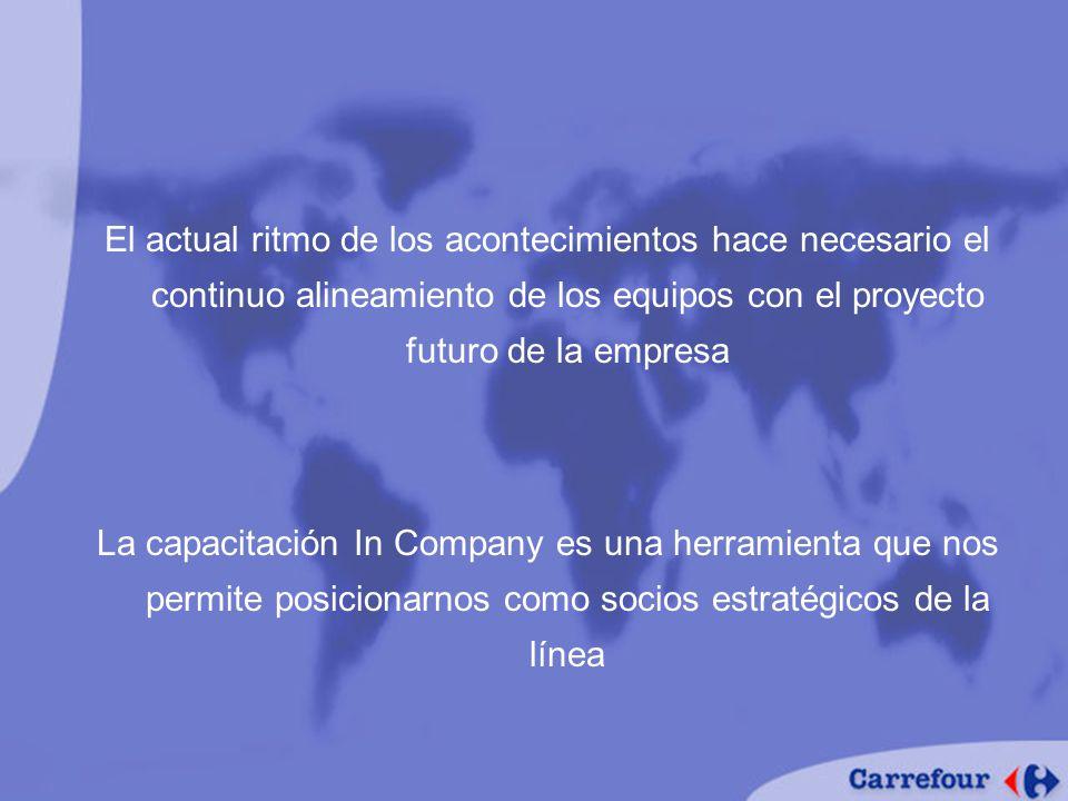 El actual ritmo de los acontecimientos hace necesario el continuo alineamiento de los equipos con el proyecto futuro de la empresa