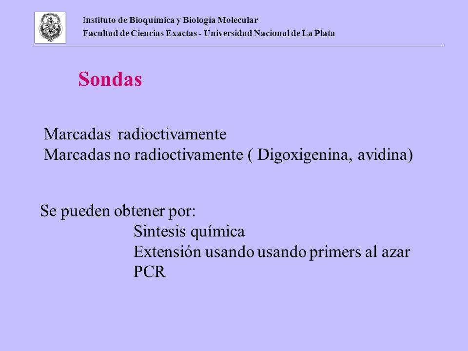 Sondas Marcadas radioctivamente