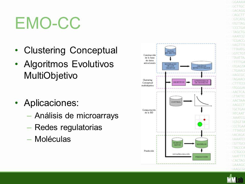 EMO-CC Clustering Conceptual Algoritmos Evolutivos MultiObjetivo