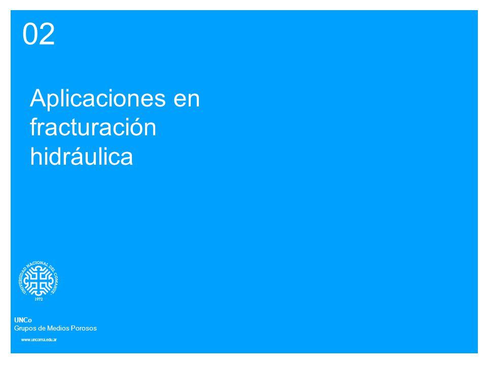 02 Aplicaciones en fracturación hidráulica UNCo