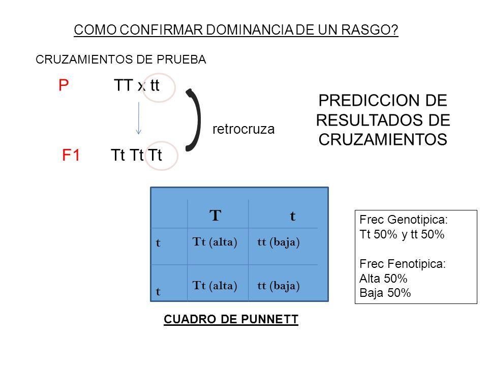 PREDICCION DE RESULTADOS DE CRUZAMIENTOS