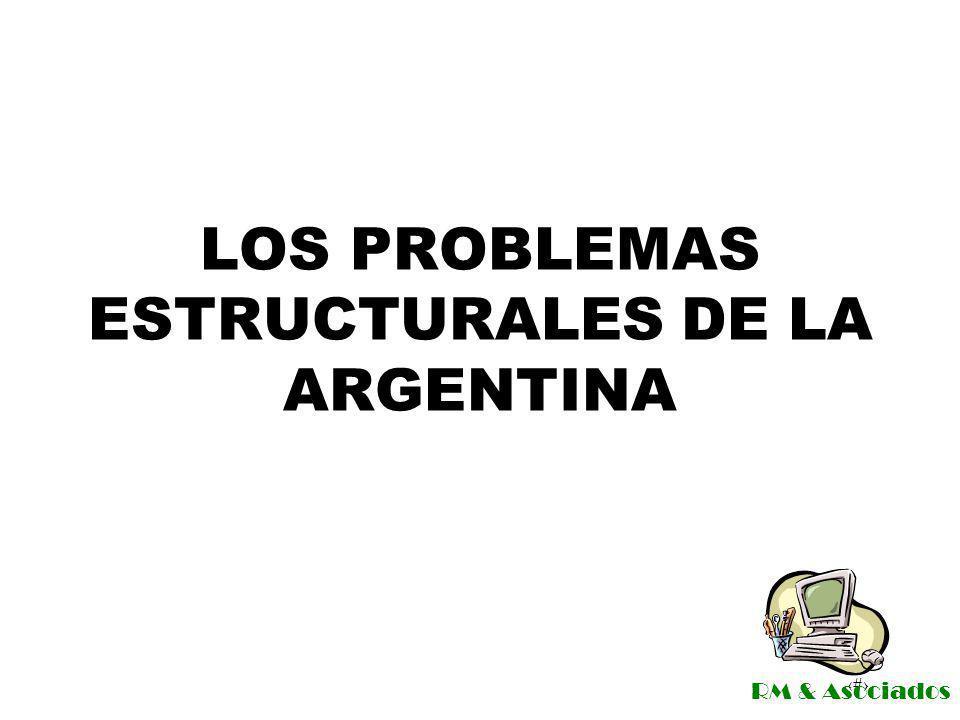 LOS PROBLEMAS ESTRUCTURALES DE LA ARGENTINA