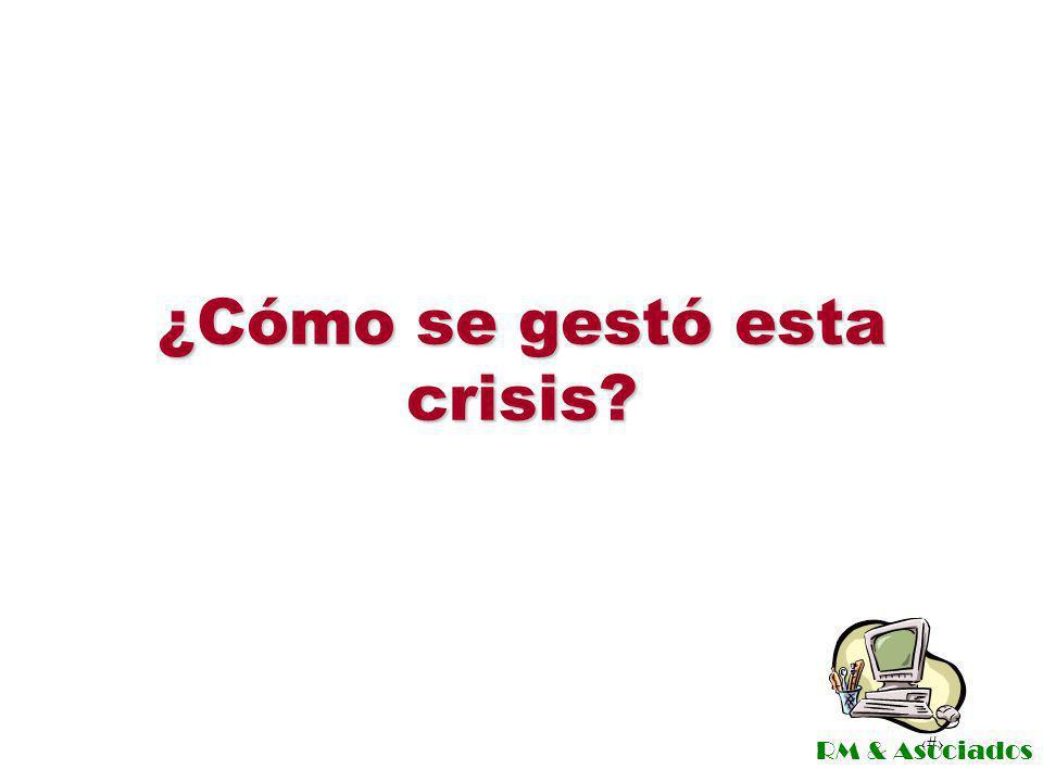 ¿Cómo se gestó esta crisis