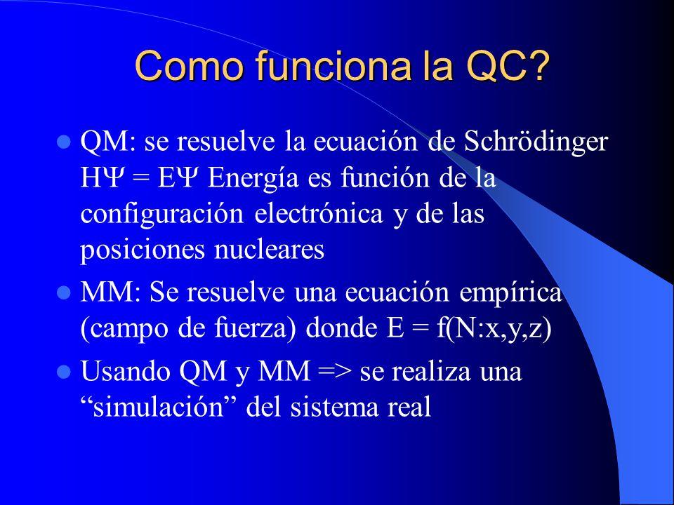 Como funciona la QC