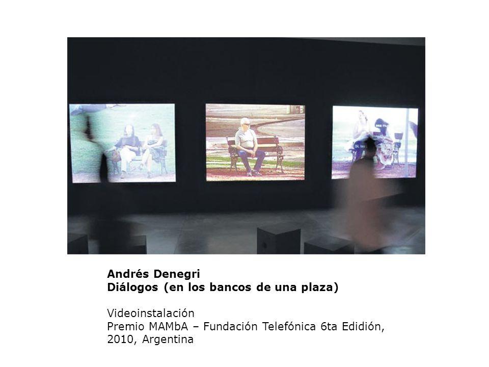 Andrés Denegri Diálogos (en los bancos de una plaza)