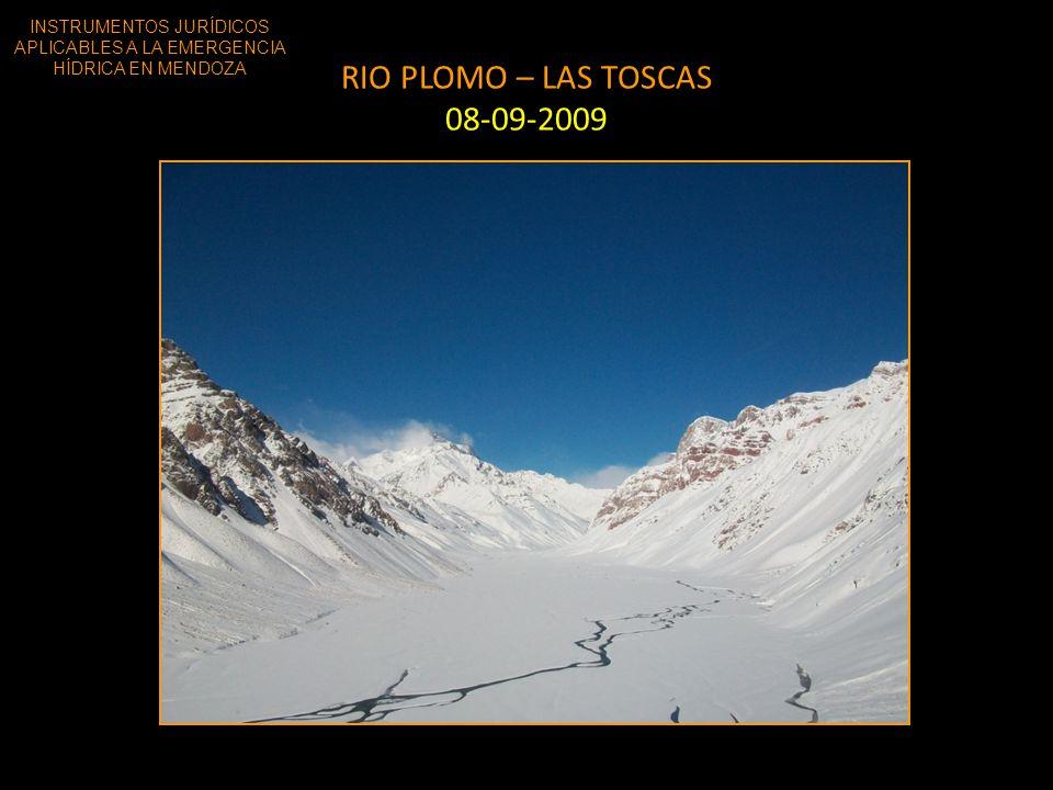 RIO PLOMO – LAS TOSCAS 08-09-2009