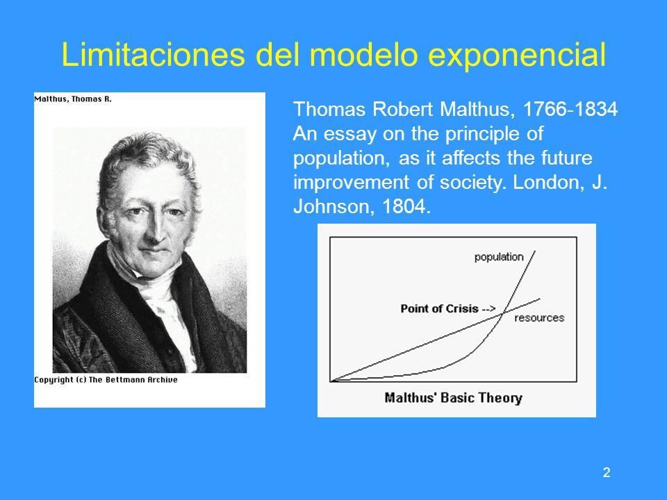 modelo de crecimiento thomas malthus essay