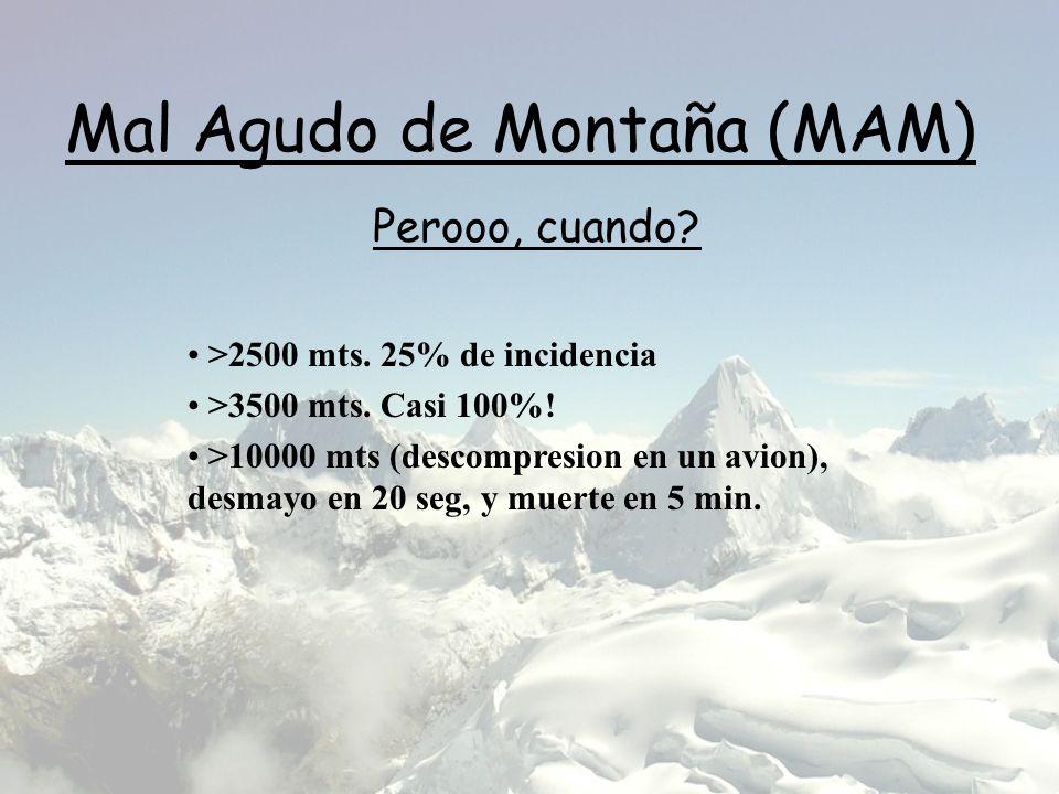 Mal Agudo de Montaña (MAM)