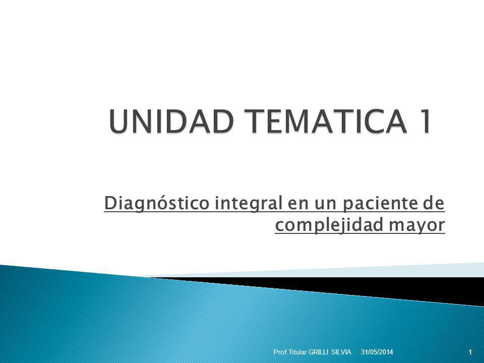 Diagnóstico integral en un paciente de complejidad mayor