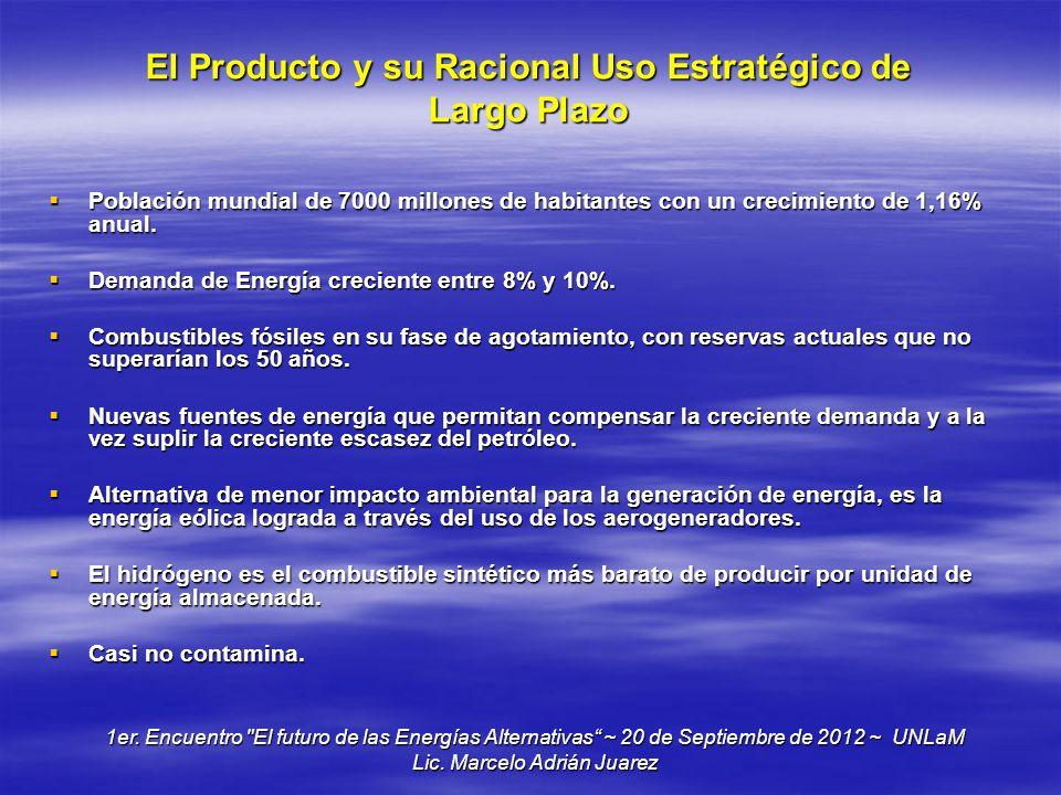 El Producto y su Racional Uso Estratégico de Largo Plazo