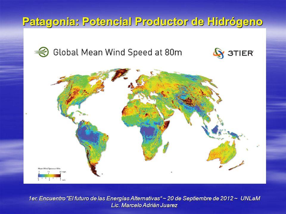 Patagonia: Potencial Productor de Hidrógeno