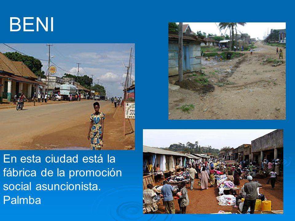 BENI En esta ciudad está la fábrica de la promoción social asuncionista. Palmba