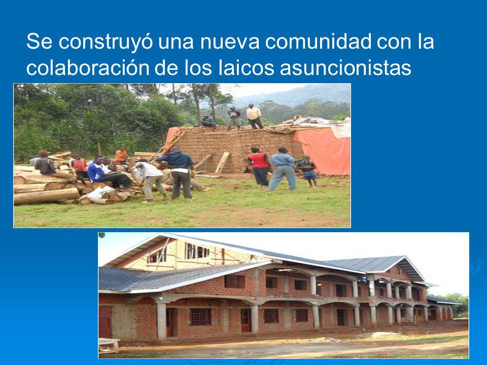 Se construyó una nueva comunidad con la colaboración de los laicos asuncionistas