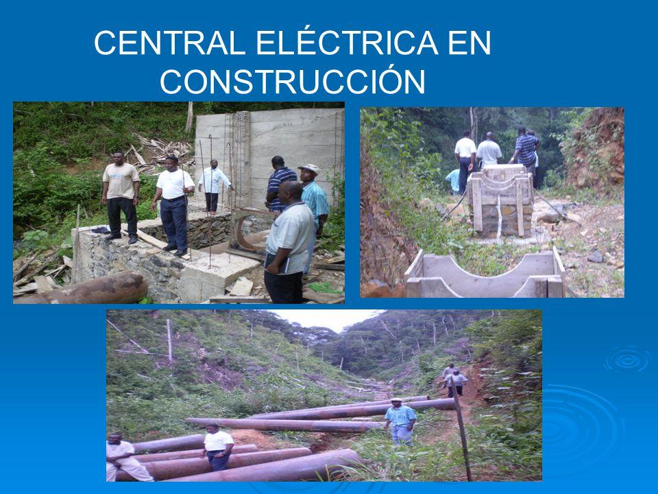 CENTRAL ELÉCTRICA EN CONSTRUCCIÓN