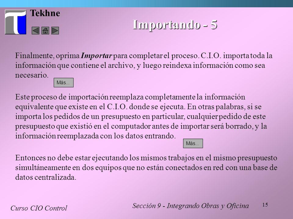 Tekhne Importando - 5.
