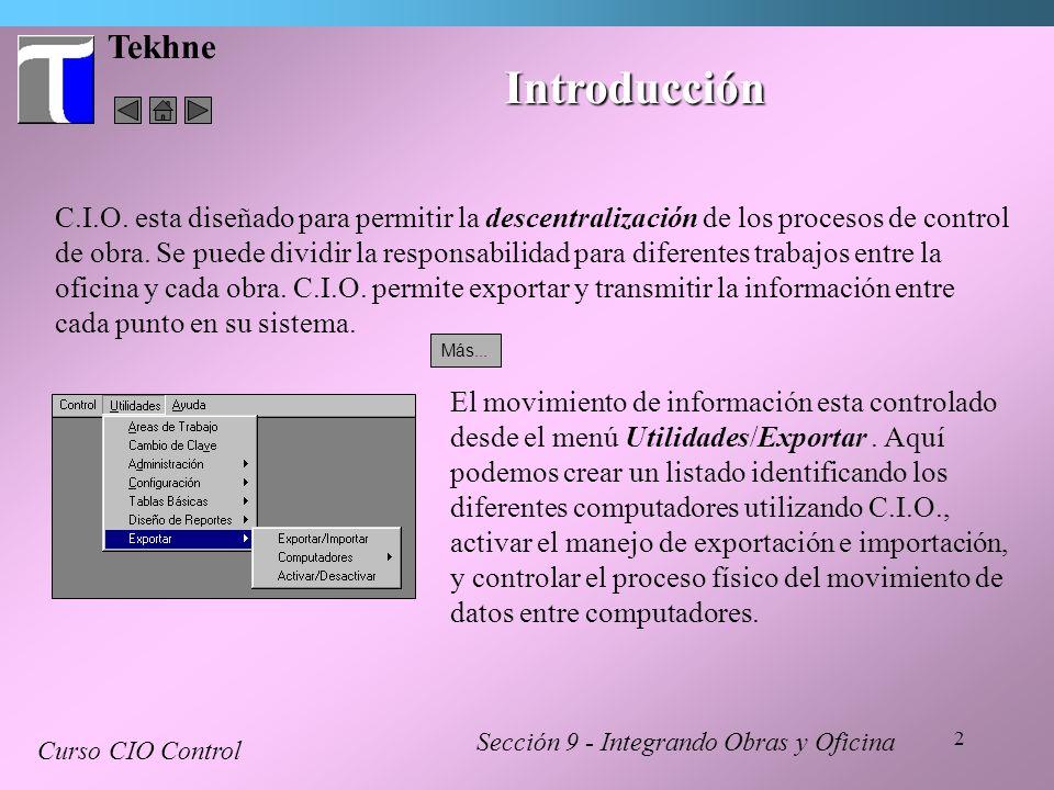 Tekhne Introducción.