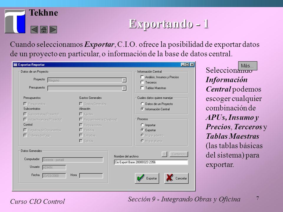 Tekhne Exportando - 1.