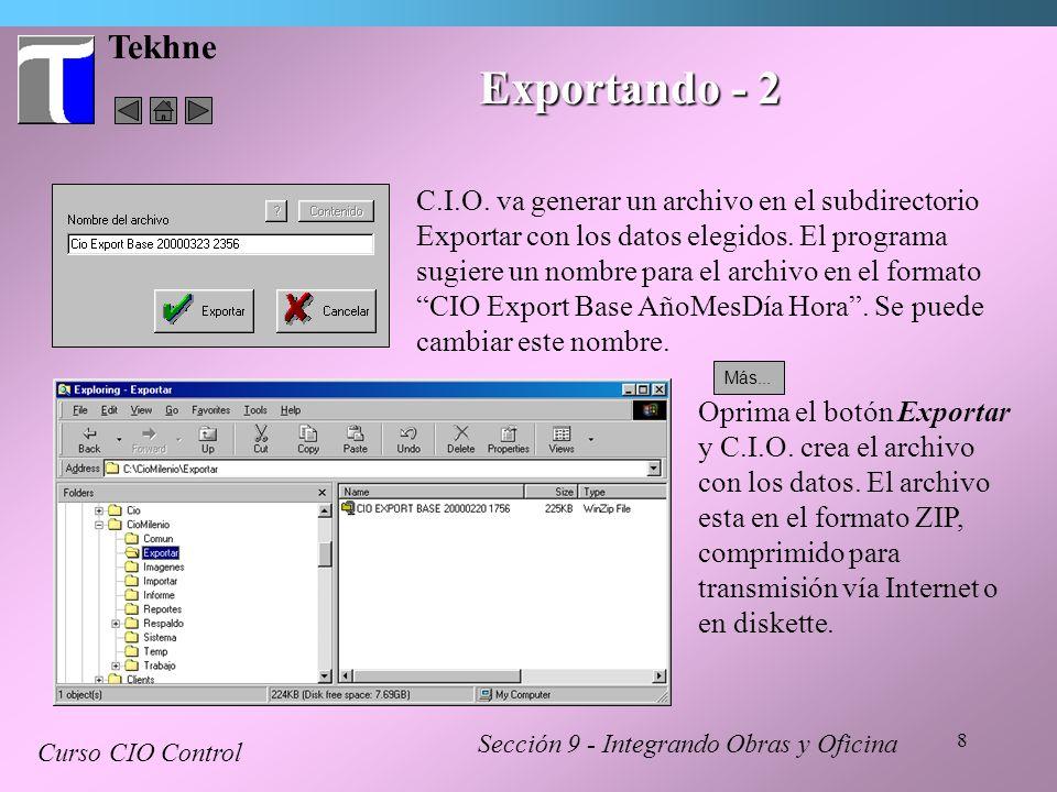 Tekhne Exportando - 2.