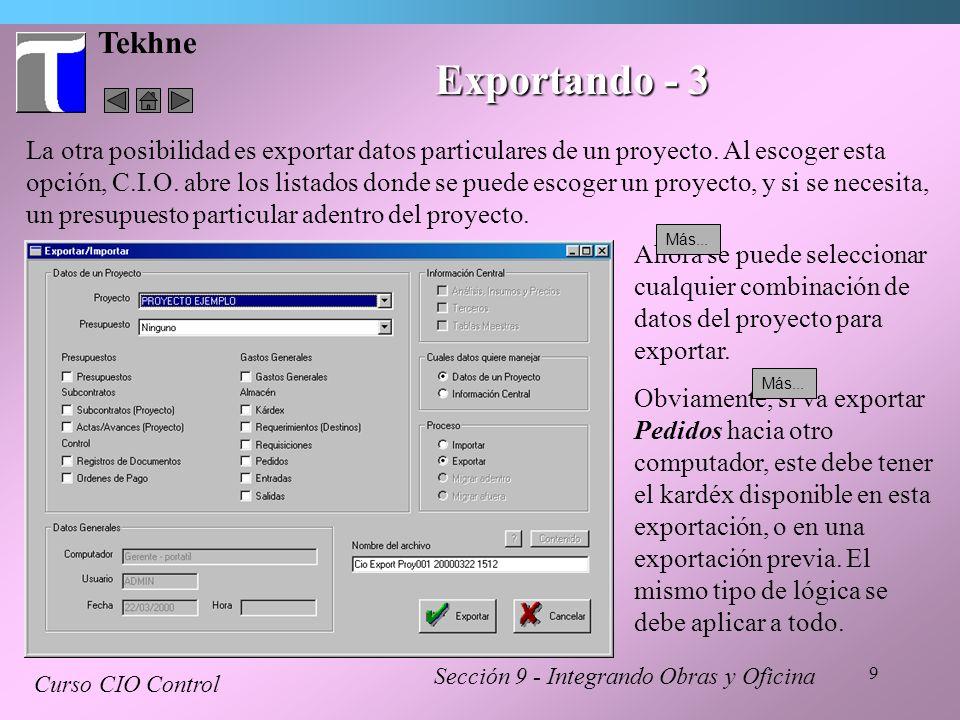 Tekhne Exportando - 3.