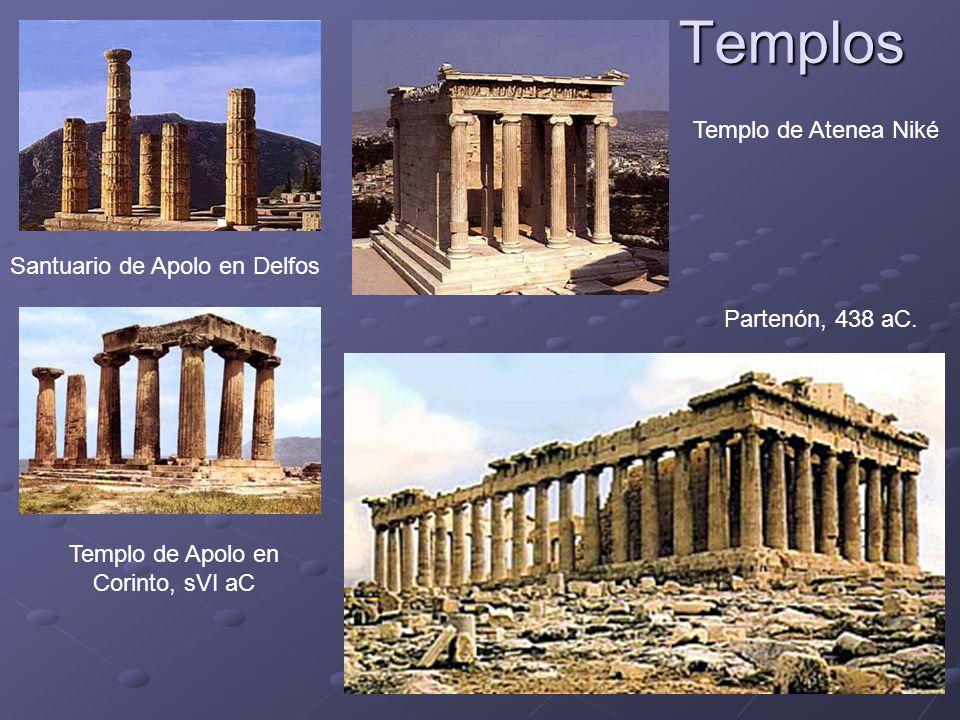 Templo de Apolo en Corinto, sVI aC