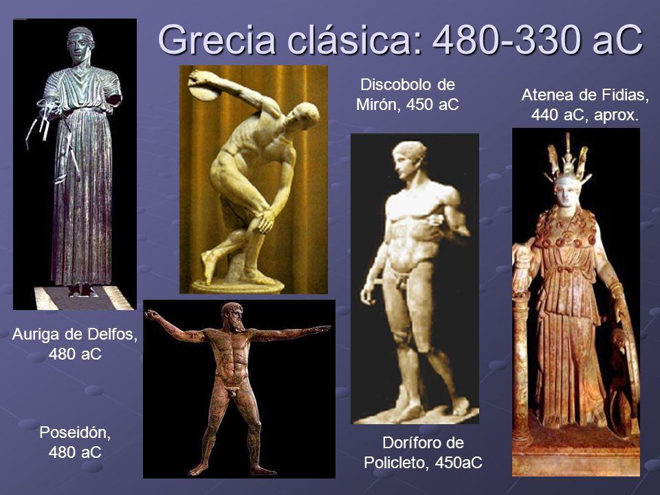 Grecia clásica: 480-330 aC Discobolo de Mirón, 450 aC