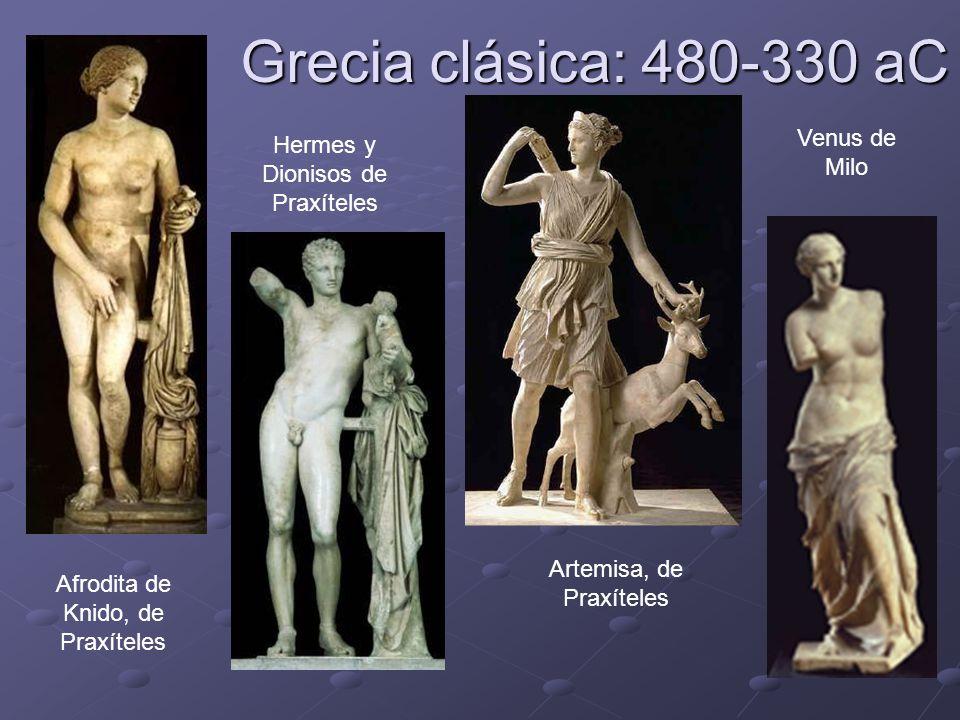 Grecia clásica: 480-330 aC Venus de Milo